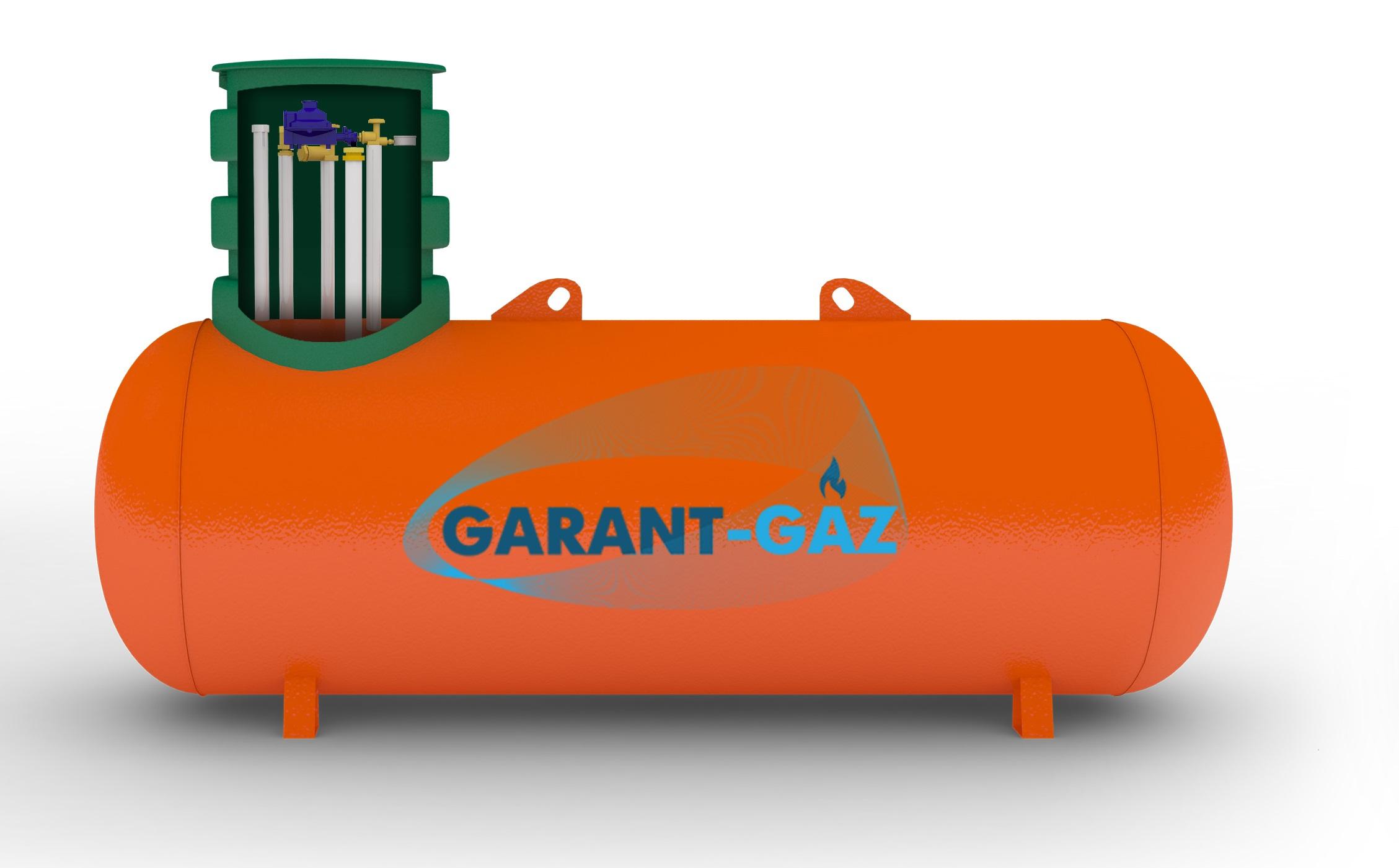 самый маленький газгольдер garant-gaz